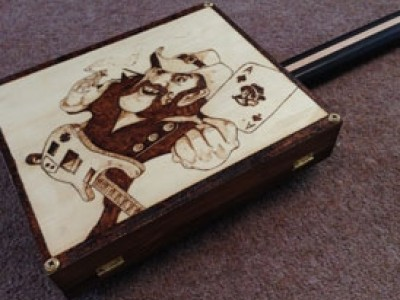 Limited Edition Cigar Box Guitars